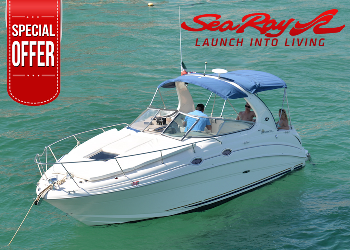 280, Sea Ray Sundancer Boat 6 Passengers, Cabo San Lucas, Los cabos, Small Boat Perfect for couple or small group