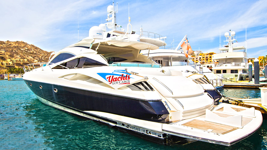 60' Sunseeker Yacht Charter in Cabo