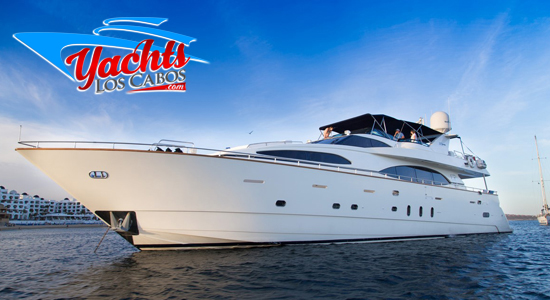 100' Azimut Yacht Charter in Los Cabos